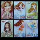 BRATZ SET OF SIX  RUSSIAN LANGUAGE CALENDAR BOOKMARKS CARDS 2009