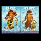 ICE AGE DAWN OF THE DINOSAURS RUSSIAN LANGUAGE CHILDRENS PACK OF PLAYING CARDS