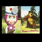 MASHA AND MEDVED THE BEAR RUSSIAN LANGUAGE CHILDRENS PACK OF PLAYING CARDS