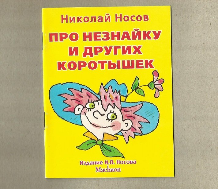 BOY CALLED DON'T KNOW RUSSIAN LANGUAGE POCKET SIZE CHILDRENS STORY BOOK