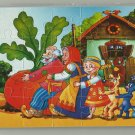 REPKA THE GIANT TURNIP  SOVIET ERA CARTOON CHILDRENS SOFT FOAM JIGSAW PUZZLE