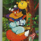KOLOBOK THE BOASTFUL COOKIE SOVIET ERA CARTOON CHILDRENS SOFT FOAM JIGSAW PUZZLE