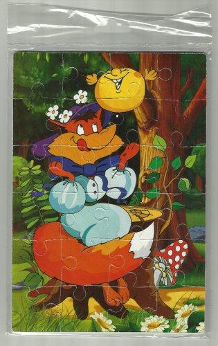 KOLOBOK THE BOASTFUL COOKIE SOVIET ERA CARTOON CHILDRENS SOFT FOAM JIGSAW PUZZLE