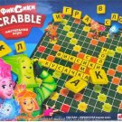 FIXIKI CHILDREN'S RUSSIAN AND UKRAINIAN LANGUAGE SCRABBLE WORD BOARD GAME