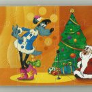 NUPOGODI CHRISTMAS SOVIET ERA CARTOON CHILDRENS SOFT FOAM JIGSAW PUZZLE