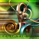ECLIPTIC A FISSURE IN SILENCE LUNAR SOUND PSY-TRANCE CD