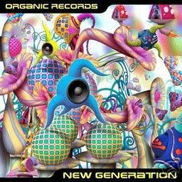 VARIOUS NEW GENERATION ORGANIC RECORDS PSY-TRANCE CD