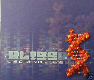 BLISS THE RHYTHMUS GENE YONATAN MARCOW PSY-TRANCE CD