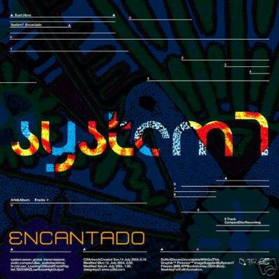SYSTEM 7 ENCANTANDO OOP TECHNO AMBIENT PSY-TRANCE CD