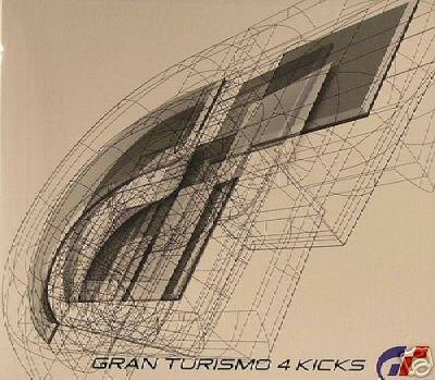 GRAN TOURISMO FOUR 4 KICKS RARE JAPANESE OOP TRANCE CD