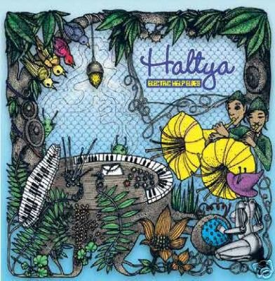 HALTYA ELECTRIC HELP ELVES FINLAND PSY-TRANCE CD
