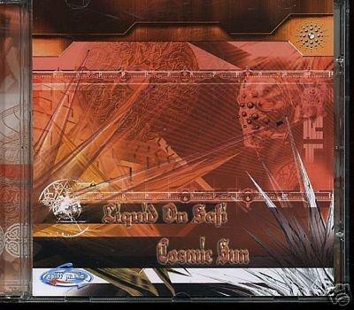 LIQUID ON SAFI COSMIC SUN RARE OOP ISREAL PSY-TRANCE CD