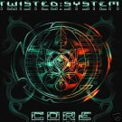 TWISTED SYSTEM CORE SUPERB SOUTH AFRICAN PSY-TRANCE CD
