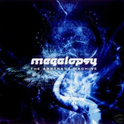 MEGALOPSY THE ABSTRACT MACHINE DARK PSY-TRANCE CD