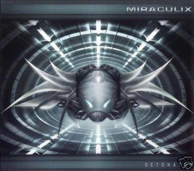 MIRACULIX DETONATOR RARE 2002 PSY-TRANCE OOP CD