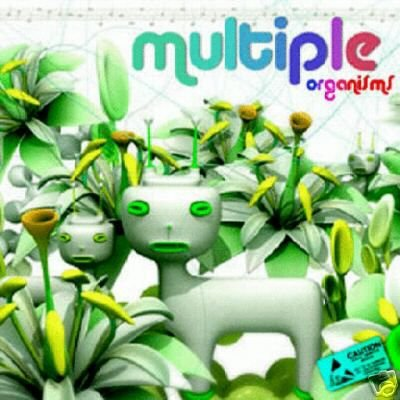 MULTIPLE ORGANISMS SPANISH DUB AMBIENT PSY-TRANCE CD