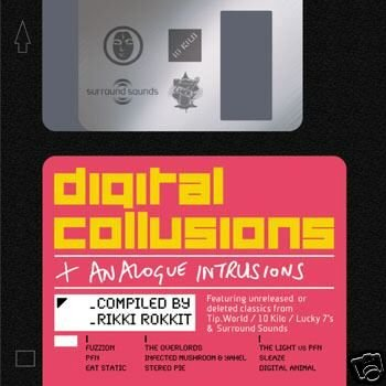 DIGITAL COLLUSIONS EAT STATIC FUZZION V RARE OOP CD