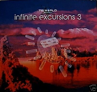 INFINITE EXCURSIONS 3 TIP.WORLD JAIA TRISTAN TRANCE CD