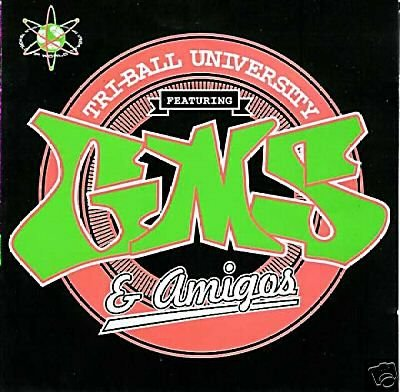 GMS & AMIGOS TRI-BALL UNIVERSITY RARE TIP.WORLD OOP CD