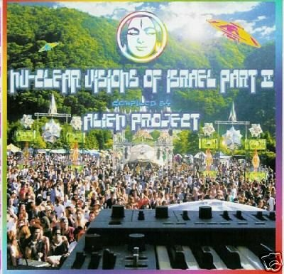 NU-CLEAR VISIONS OF ISREAL 2 ALIEN PROJECT SPACE CAT CD