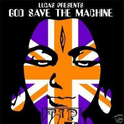 GOD SAVE THE MACHINE RAJA RAM TIP.WORLD RARE TRANCE CD