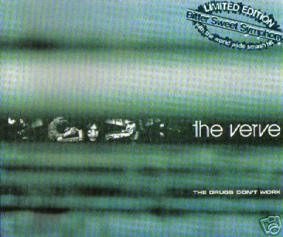 THE VERVE THE DRUGS DON'T WORK RARE DEMO 4 TRACK CD NEW