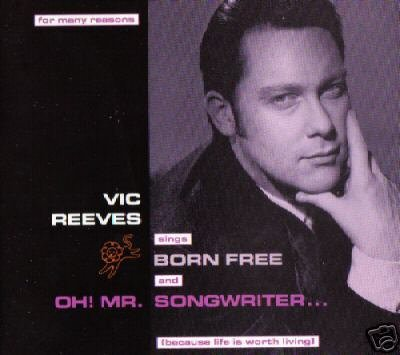 VIC REEVES BORN FREE OH MR SONGWRITER SUPERB CD NEW