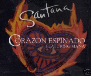 SANTANA CORAZON ESPINADO V RARE 6 TRACK REMIXES CD NEW