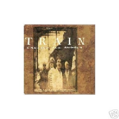 TRAIN CALLING ALL ANGELS FOR YOU V RARE CARD SLEEVE CD