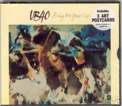 UB40 BRING ME YOUR CUP CD + LTD POSTCARDS NEW & SEALED