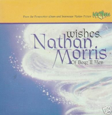 NATHAN MORRIS BOYS 2 MEN WISHES V RARE KAZAAM CD NEW