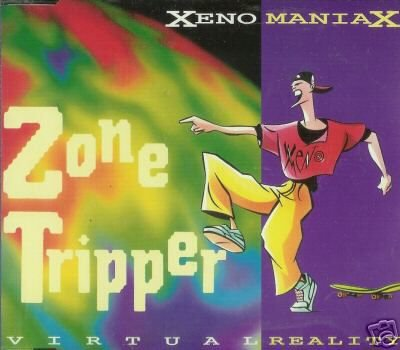 XENO MANIAX ZONE TRIPPER 5 TRACK REMIXES CD NEW