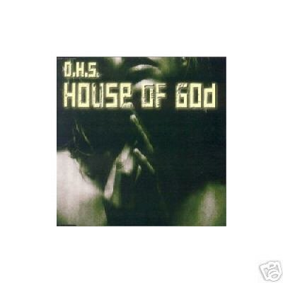 DHS D.H.S HOUSE OF GOD 7 TRACK TECHNO REMIXES CD