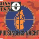 SONS OF ILSA PULSINGERS NACHT RARE 1995 GERMAN CD NEW