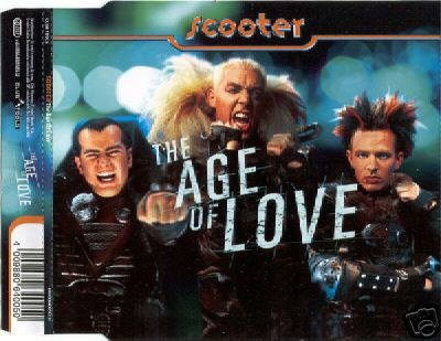 SCOOTER THE AGE OF LOVE GERMAN CD IMPORT NEW