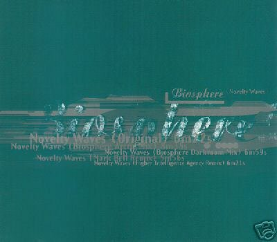 BIOSPHERE NOVELTY WAVES 5 TRACK REMIXES CD NEW & SEALED