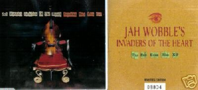 JAH WOBBLE INVADERS OF THE HEART 2 V RARE LTD CD EP' S