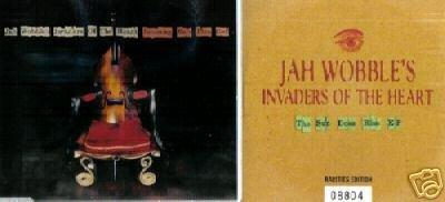 JAH WOBBLE INVADERS OF THE HEART 2 V RARE LTD CD EP' S