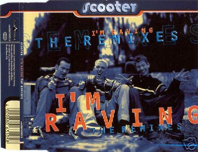SCOOTER I'M RAVING THE REMIXES V RARE OOP CD NEW