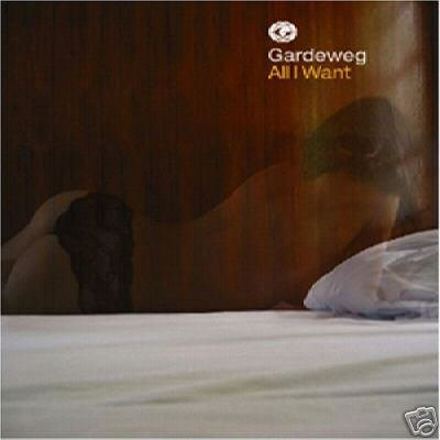 GARDEWEG ALL I WANT CD SUPERB 4 TRACK CD IMPORT NEW