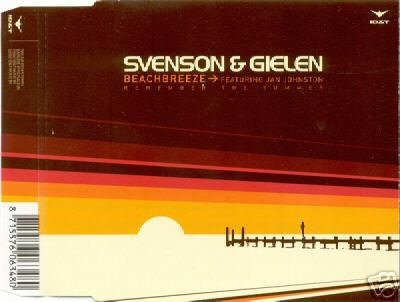 SVENSON & AND GIELEN BEACHBREEZE 8 TRACK CD NEW