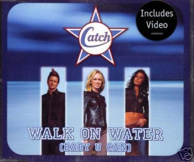 CATCH WALK ON WATER RARE 7 TRACK IMPORT CD INC VIDEO