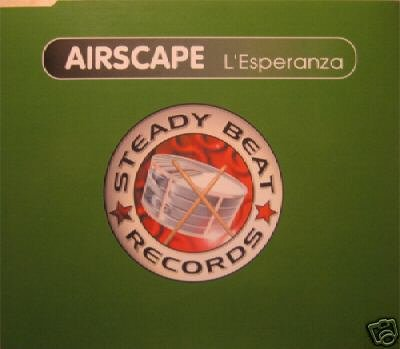 AIRSCAPE L'ESPERANZA SVENSON + 3 MIXES V RARE CD NEW
