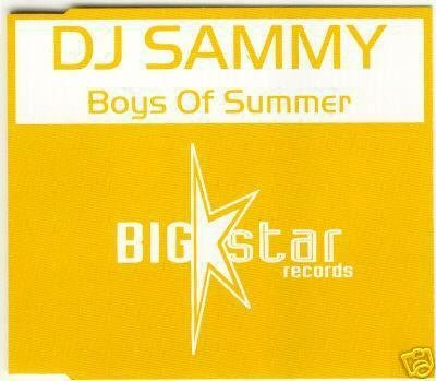 DJ SAMMY BOYS OF SUMMER RARE OOP 45 MIN REMIXES CD NEW