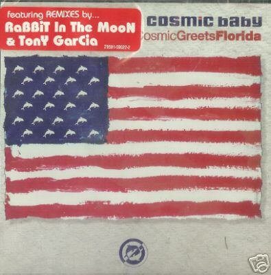 COSMIC BABY COSMICGREETSFLORIDA CD NEW & SEALED