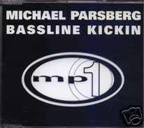 MICHAEL PARSBERG BASSLINE KICKIN V RARE 13 TRACK CD