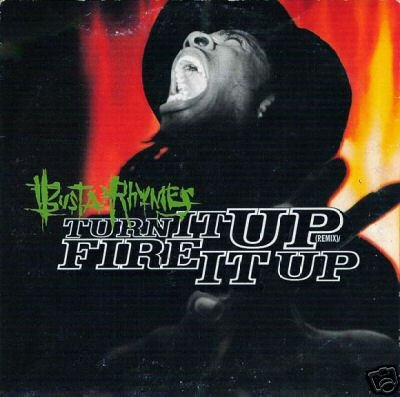 BUSTA RHYMES TURN IT UP FIRE IT UP REMIX CD NEW