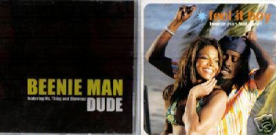 BEENIE MAN DUDE FEEL IT BOY TWO SUPERB CD'S BOTH NEW