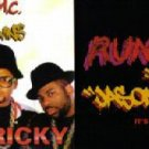 RUN DMC IT'S TRICKY LIKE THAT 2 SUPERB CD'S BOTH NEW