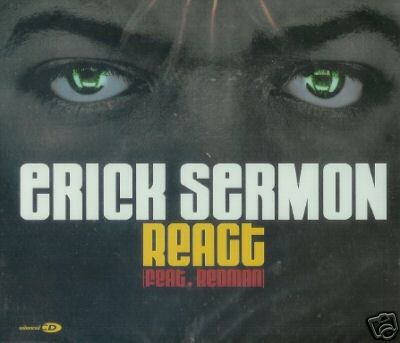 ERICK SERMON REACT REMIXES V RARE CD SINGLE SEALED